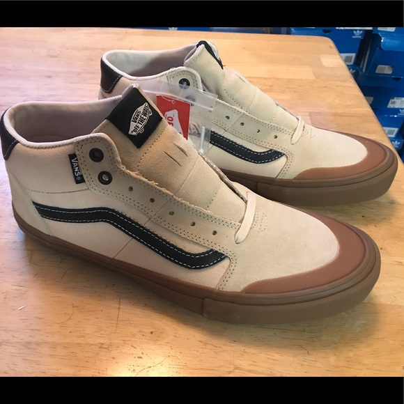 Vans Other - Vans Ty Morrow Mid Skateboarding Shoes Mens 12